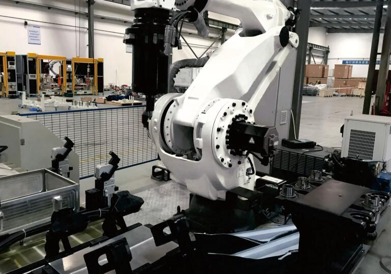 机器人摩擦焊